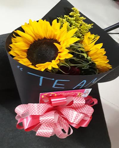Bouquet Dos Girasoles