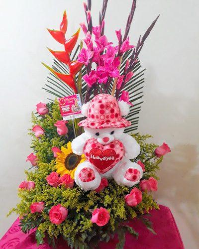 Flores y Peluches 1