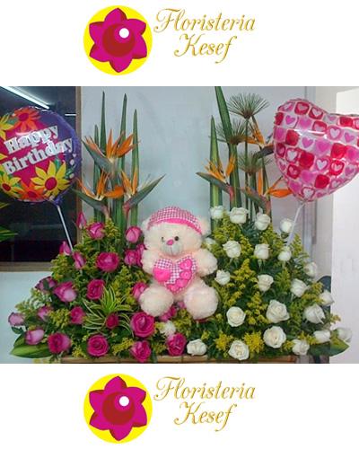 Flores y Peluches 2