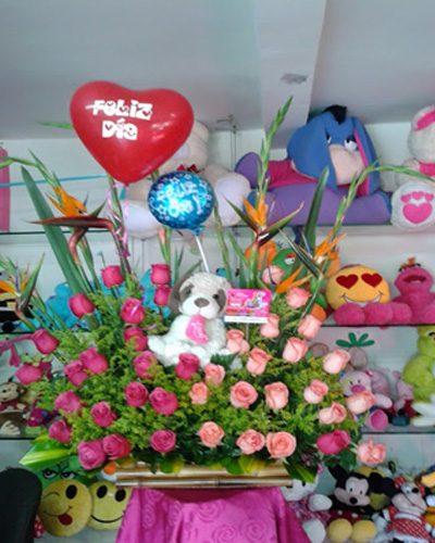 Flores y Peluches 4